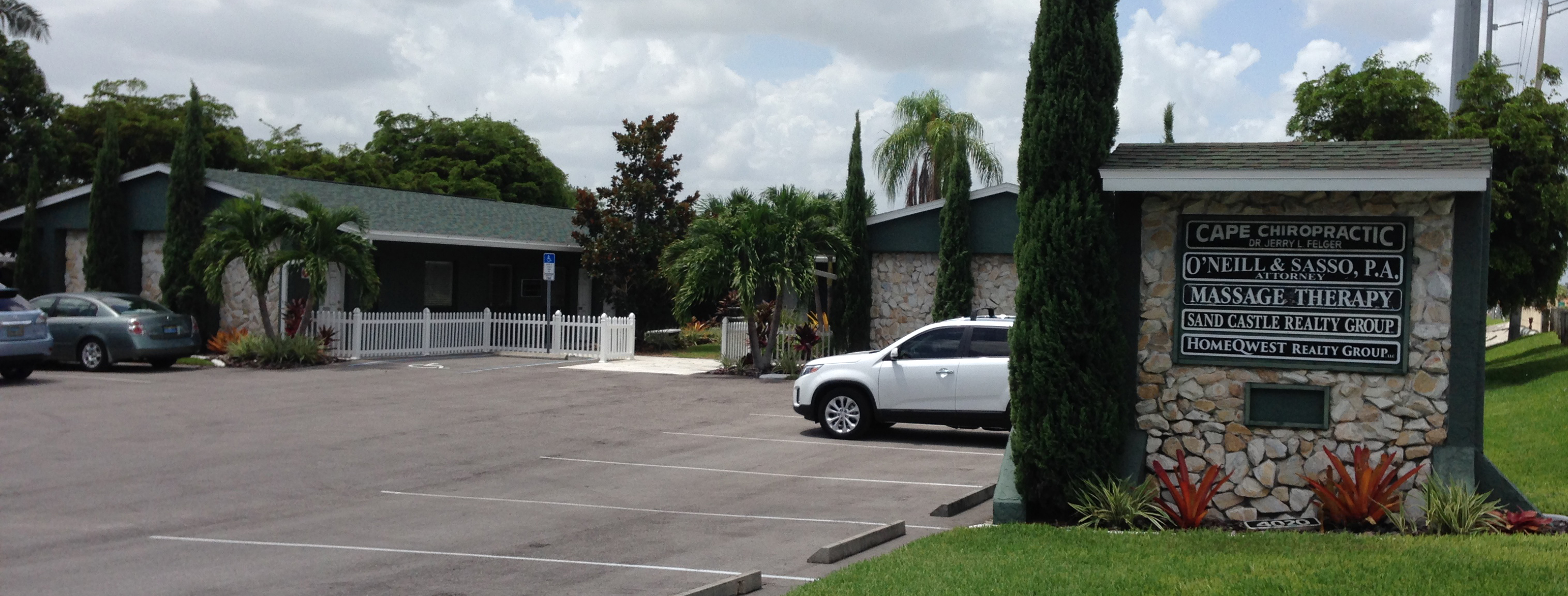 Law Offices of O'Neill and Sasso - Cape Coral Attorney - Office Bldg